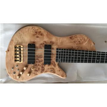 Custom Shop Butterfly Fodera 5 Strings Electric Bass