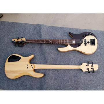 Custom Shop Fordera Yin Yang YY4 Delux 5 String Bass Standard Solid Veneer Maple Top