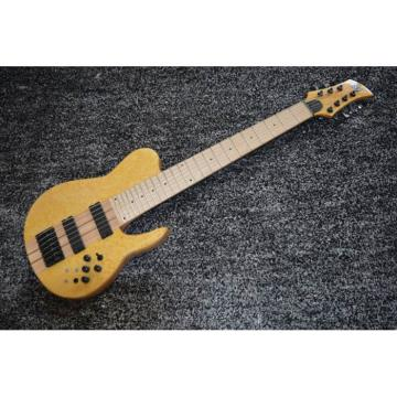 Custom Shop Fordera Birds Eye 7 String Bass Natural Maple Fretboard