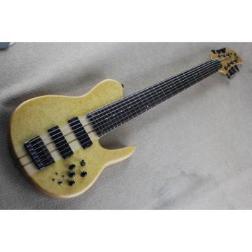 Custom Shop Fordera Birds Eye 7 String Bass Natural
