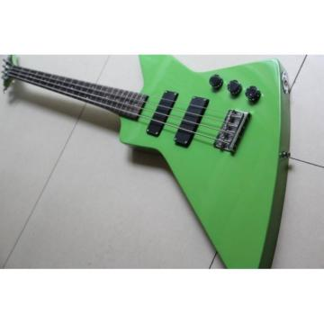 Custom Shop Explorer Green 4 String Bass