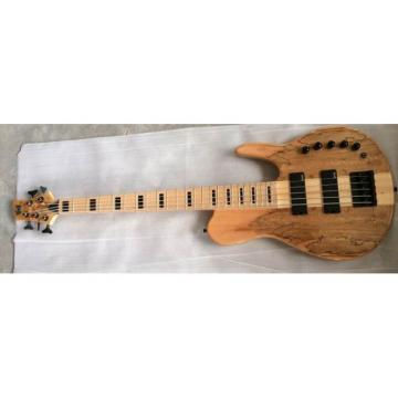 Custom Shop Fordera 5 String Spotted Maple Top Active Pickups Bass