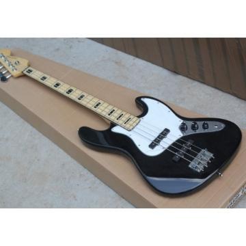 Custom Shop Black Geddy Lee 4 String Jazz Bass