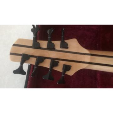 Custom Shop Ash Wood Neck Through Body Birds Eye 7 String Bass