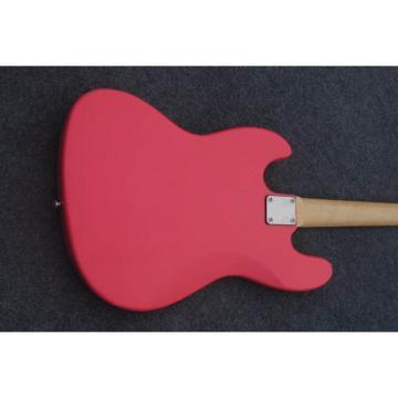 Custom Shop American Pink 4 String Jazz Bass