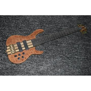 Custom Shop 6 String Natural Maple Top Ken Smith Electric Bass