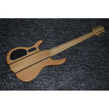 Custom Shop 6 String Natural Maple Top Ken Smith Electric Bass