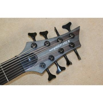 Custom Shop 8 String Matte Black Mongrel Ken Smith Bass