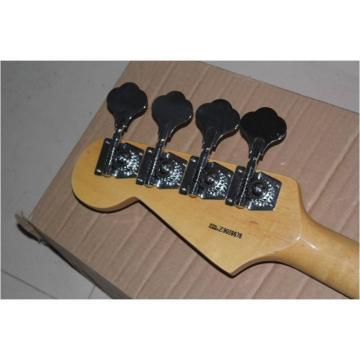 Custom Shop 4 String Ash Wood Vintage Jazz Bass Wilkinson Parts