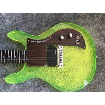 Custom Shop 4 String Ampeg Green Acrylic Dan Armstrong Bass