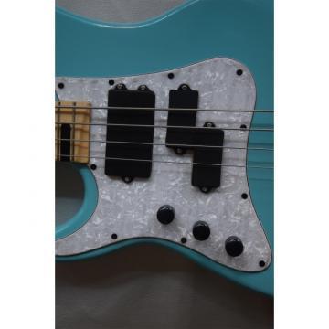 Custom Shop 4 String Left Handed Daphne Blue Bass