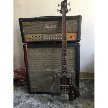 Custom Shop 4 String Ampeg Acrylic Dan Armstrong Transparent Bass