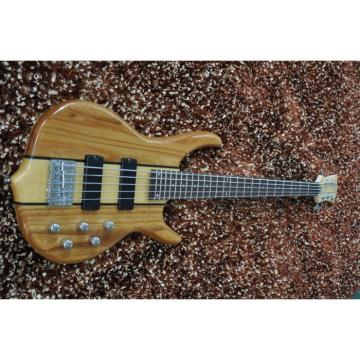 Custom Shop 5 String Natural Smith Electric Bass Bolt On
