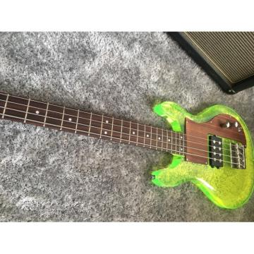 Custom Shop 4 String Ampeg Acrylic Dan Armstrong Green Bass