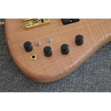 Custom Shop 5 String Natural Finish Bass