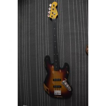 Custom Built Vintage Relic Matte 4 String Jazz Bass
