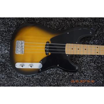 Custom Built Tobacco Burst Telecaster 4 String Bass