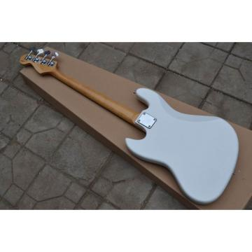 Custom Fender Pearl White Jazz Bass Guitar