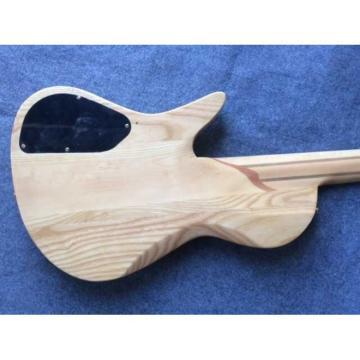 Custom Built Butterfly Fodera 5 Strings Bass Natural Finish