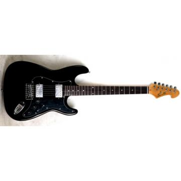 The Top Guitars Brand Black SST HH Design Electric Guitar