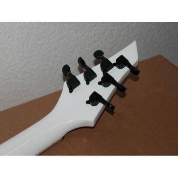 USA Custom Shop Jackson Soloist Alpine White Electric Guitar