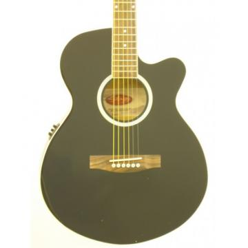 Stagg SW206CBB-BK Acoustic Electric W/BBAND Electronics