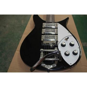 Rickenbacker 381 Black 3 Pickups Electric Guitar