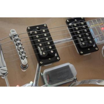 Project Acrylic Body and Neck Iceman Electric Guitar With Led Lights