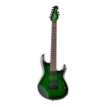 NEW STERLING JP70-TGB JOHN PETRUCCI SIGNATURE 7 STRING GREEN ELECTRIC GUITAR