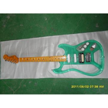 Logical Acrylic Green Electric Guitar