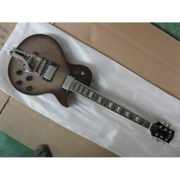 Logical Brown Wave  Top LP Electric Guitar