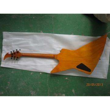 Ken Lawrence James Hetfield Sunburst Electric Guitar