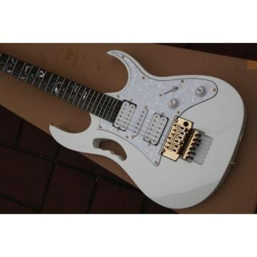 Jem 7v Steve Vai White Floyd Rose Style Electric Guitar