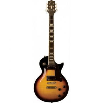 Jay Turser 220D Series Electric Guitar Tobacco Sunburst