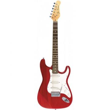 Jay Turser 300 Series Electric Guitar Trans Red