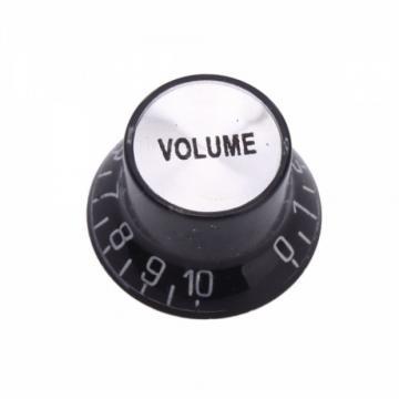 Electric Guitar Speed Volume Tone Knob Black