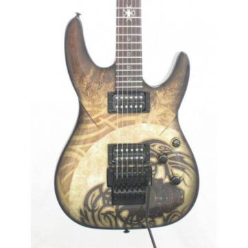 DBZ Bare Bones Religion Preacher Graphic Electric Guitar