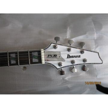 Custom White Iceman Ibanez Electric Guitar