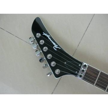 Custom White Boris Dommenget Electric Guitar