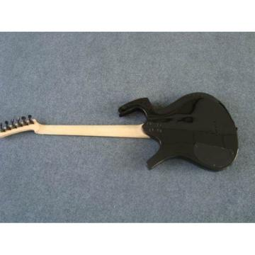Custom Unique Jet Black Fly Mojo Electric Guitar