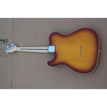 Custom Telecester 6 String Sunset Sunburst Electric Guitar