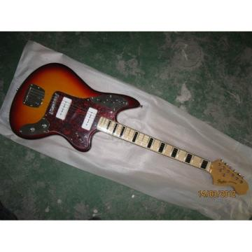 Custom Shop Kurt Cobain Vintage Sunburst Jaguar Jazz Master Electric Guitar