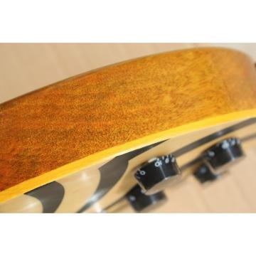 Custom Shop Zakk Wylde Bullseyes Natural Electric Guitar