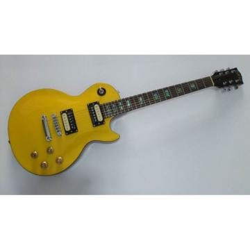 Custom Shop Yellow Standard Electric Guitar