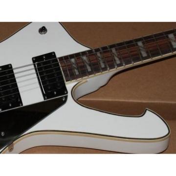 Custom Shop White Iceman Ibanez Electric Guitar