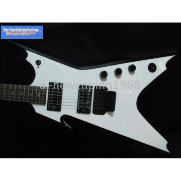 Custom Shop White Strange Style Dean Electric Guitar