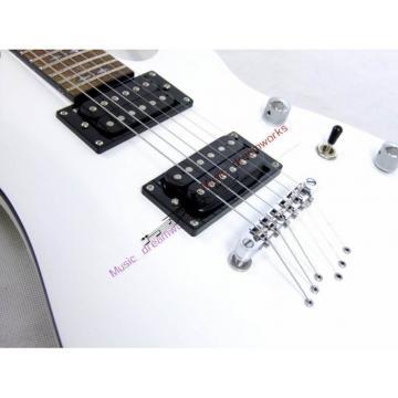 Custom Shop White Schecter J l7 Electric Guitar