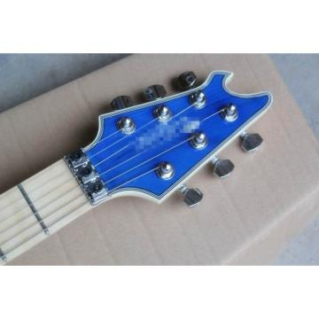Custom Shop Wolfgang EVH Left Handed Blue Maple Top Electric Guitar