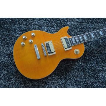 Custom Shop Wilkinson Parts Left Handed Slash Appetite Sunburst Electric Guitar