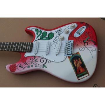 Custom Shop White American Jimi Hendrix Electric Guitar